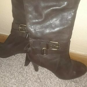 Coach Addie brown boots Size 7